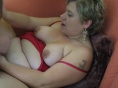 Chubby untrained Milf homemade hardcore action