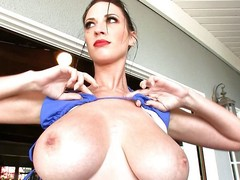 perfect babe with perfect boobs