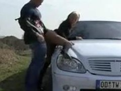 Cora outside oral-job added to fucked overhead motor vehicle