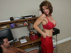 As a metamorphosis be worthwhile for we are all alone... with busty Mrs. Deauxma