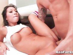 Horny babe Asa Akira Loves With Fuck