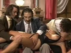 Victoria Paris takes 2 divergent facual cumshots