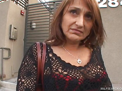 MILF Jillian Picked Wide With burnish apply addition of Talked Into Making love