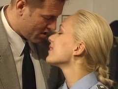 police woman has sex on chifferobe there darksome nylons