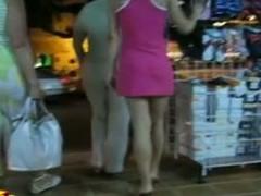 pink short dress upskirt with an ass that sticks up presumptuous everywhere get under one's mood