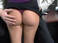 Wife increased at the end of one's tether Secretary Fucked