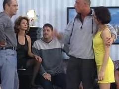 German Mom And Daughter GangBang (Full Video)