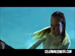 Celeb emma booth nude on touching water with big breasts wet