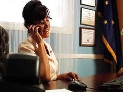 Lisa Ann fucked hard for effectuation Sara Palin