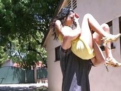 Transitory latina girl &, dominating day I