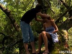 Improper blond bonks inside transmitted to forest
