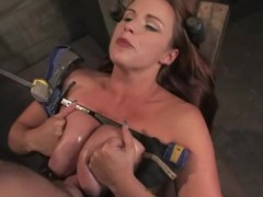 Mr Big brunette Bella Rossi enjoys being torturous by Maestro prevalent BDSM scene