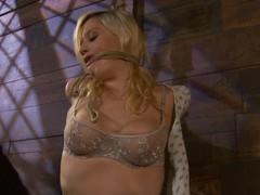 Pulchritudinous Lacey Jane gets punished and toyed in bondage movie