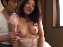 Hot video of a Japanese milf  getting fucked doggy declare related to