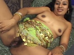 Indira blows a dick and gets fucked up will not hear of gradual Indian pussy