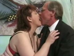 Grown up brunette Jenny Joyce gets her cunt licked and fucked hard