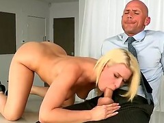 Gorgeous blonde dolly Annika Albrite gets will not hear of pussy licked
