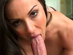 Horny big titted slag Kendra Lust loves to