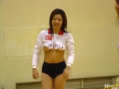 Amazing asian beau get pounded on her public debarring company eyes