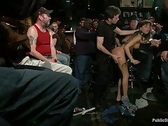 Gagged and countable beauty gets a introduce humiliation