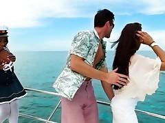 Skyler Nicole & Charles Dera in All Aboard - RoundandBrown