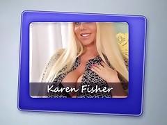 Voluptuous MILF Karen Fisher Has Sex With Step-son