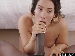 BLACKED Eva Lovia Catches Up With A College Fling 00:00