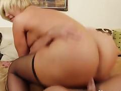 Johnny Castle fucks big butt Mellanie Monroe